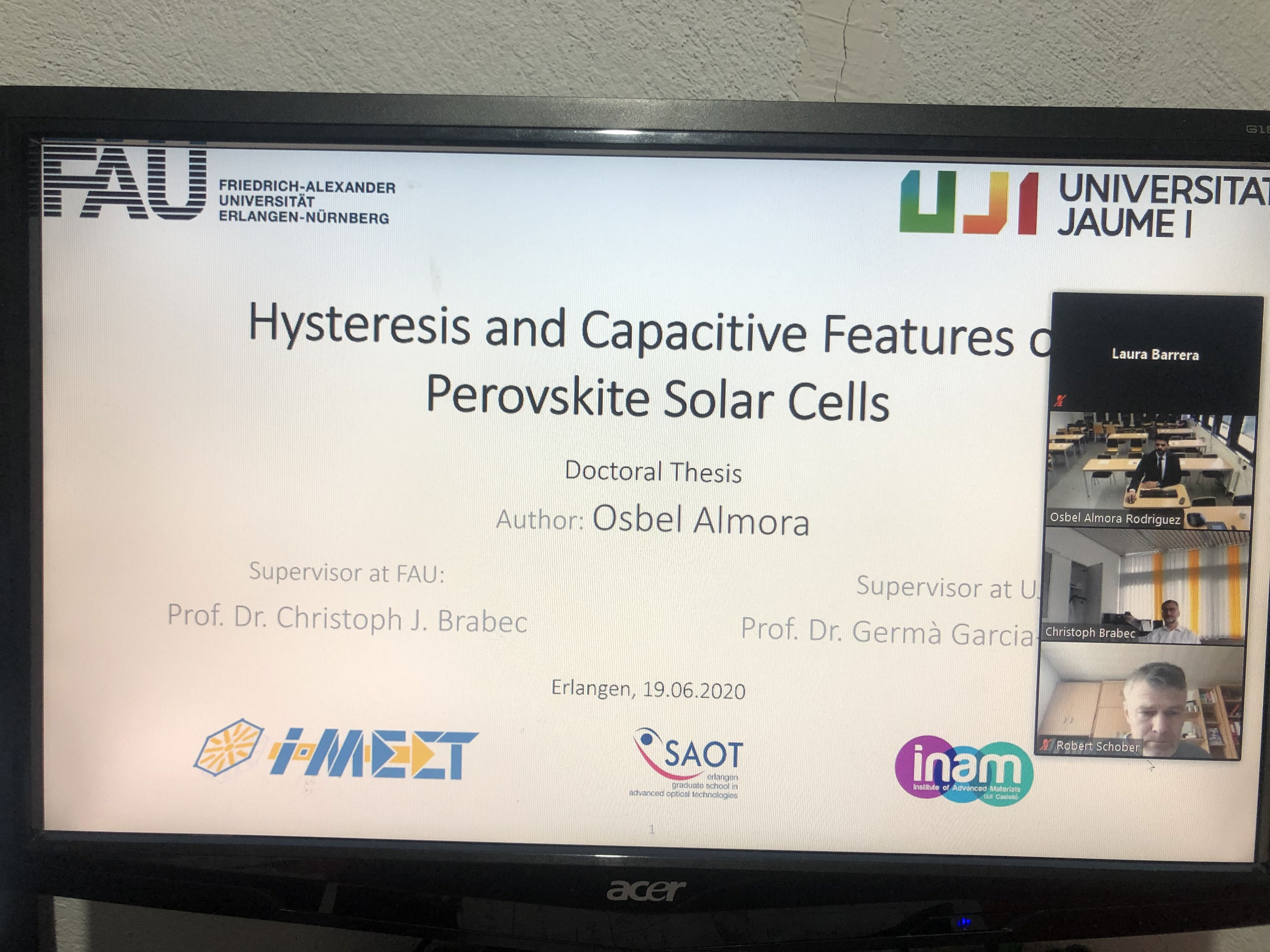 Solar cell phd thesis