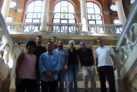 INAM researchers at #Sept17nanoGe in Barcelona. INAM researchers at nanoGe September Meeting