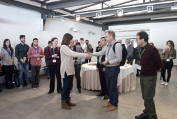 Marta Vallés was the winner of the best poster prize in ABXPV17 Conference
