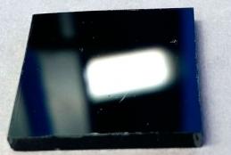 Fotografia d'una capa de perovskita híbrida amb pocs defectes químics.