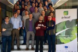 Investigadores del proyecto ALEAF