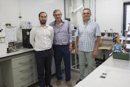 Dr. Guerrero, Prof. Bisquert and Prof. Garcia-Belmonte
